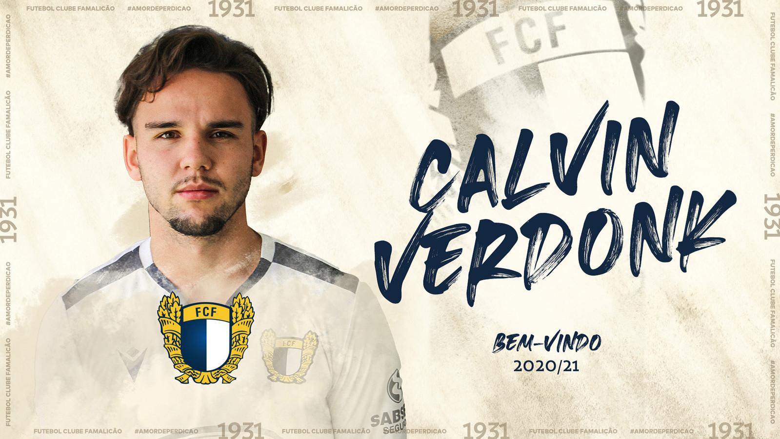 2020 Calvin Verdonk speelt komend seizoen in Protugal bij Fc Famalicão