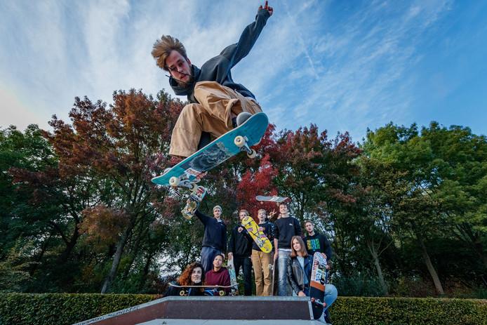 Skaters in Zevenbergen