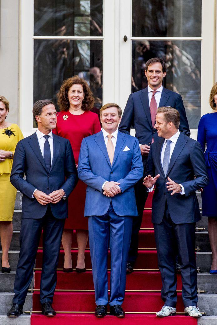 Mascolori-oprichter Jochem Grund is blij verrast dat De Jonge dit paar aandeed voor de bordesfoto.