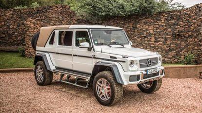 Veiling van ultrazeldzame Mercedes levert 1,2 miljoen euro op tijdens Zoute GP