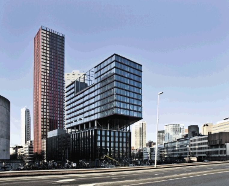 Rotterdam, Red Apple. (Ontwerp: KCAP Architects & Planners.) Beeld