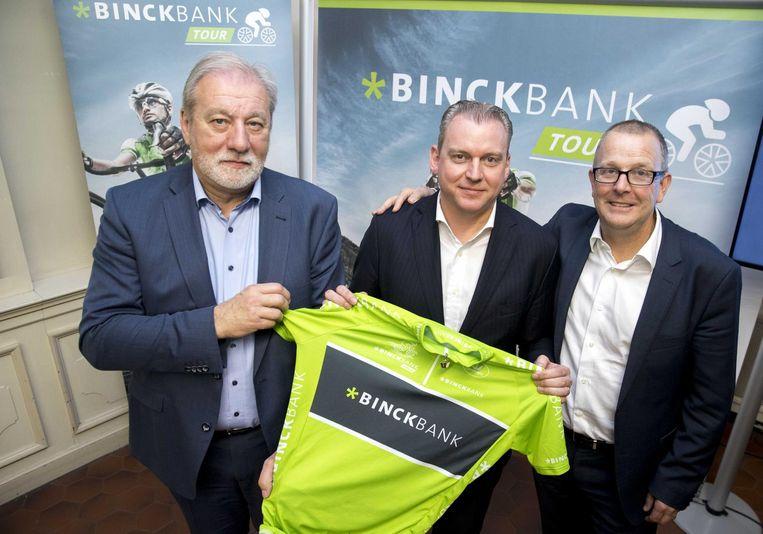 ROB discart, CEO Vincent Germyns en Bob Verbeeck ( CEO Golazo ).