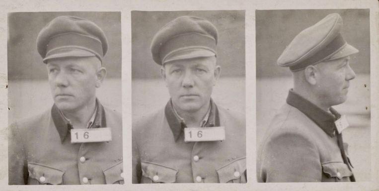 Kampcommandant Karl Peter Berg Beeld kamp amersfoort