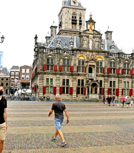 Dwars door Delft: amper toeristen, maar nog wel volop achtergebleven studenten