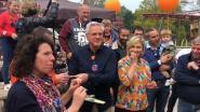 Kris Peeters viert verjaardag in Plopsaland