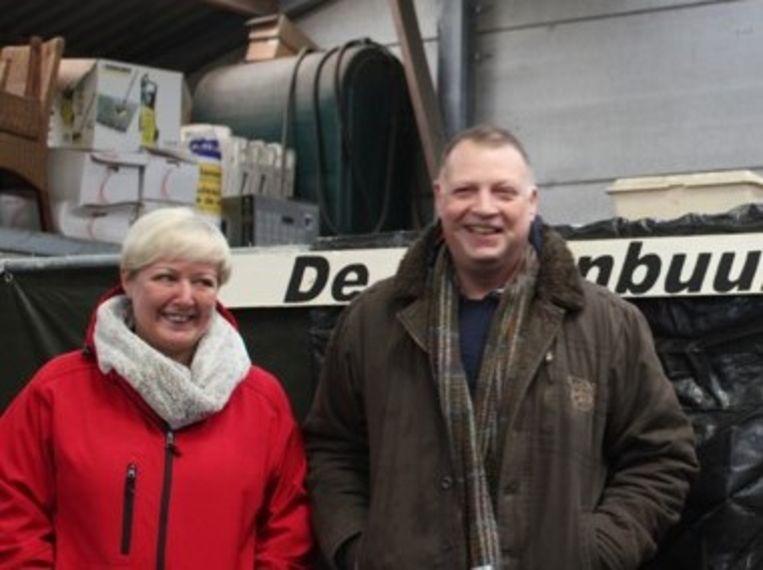 Gina Voorons en Jan De Groote.