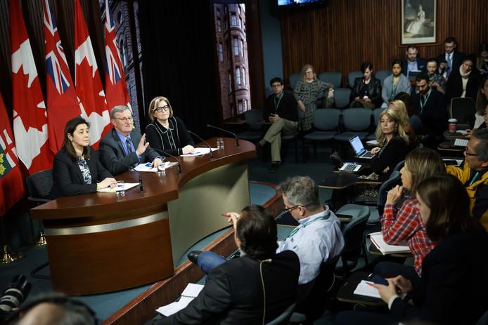Les autorités sanitaires du Canada ont annoncé l'information
