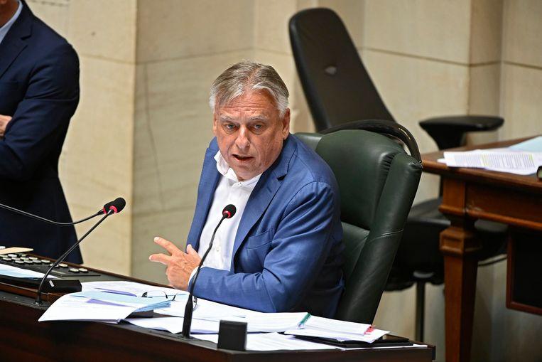 Patrick Dewael (Open Vld) is er geen voorstander van om de kwestie pas in het kader van de regeringsformatie te bespreken.