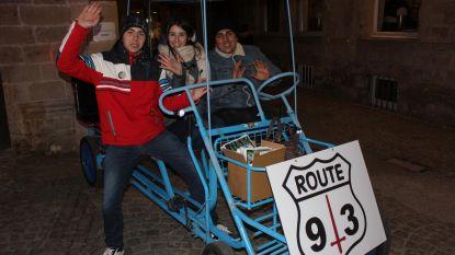 Beleef de stad in een go-cart