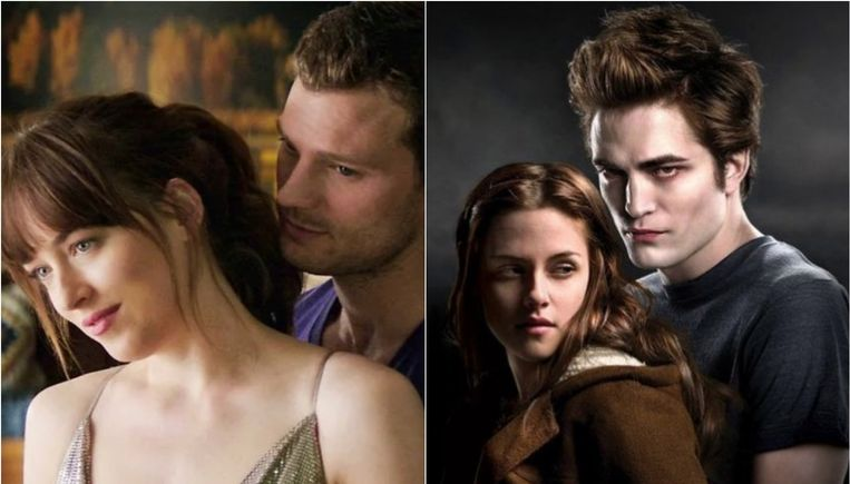 'Fifty Shades Of Grey' ontstond als 'Twilight'-fanfiction.