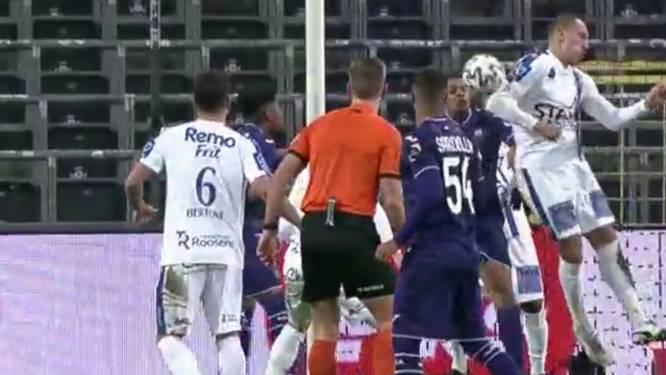 """Referee Department: """"Anderlecht had strafschop moeten krijgen tegen Waasland-Beveren"""""""