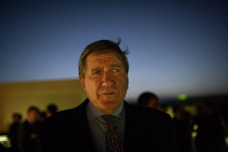Diplomaat Richard Holbrooke in Afghanistan, 2009 Beeld Getty Images