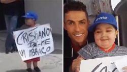 Ronaldo laat Portugese teambus stoppen om droom van zieke jongen in vervulling te laten gaan