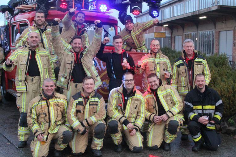 Brandweerpost Lebbeke stuurt een delegatie naar Fire For Life.