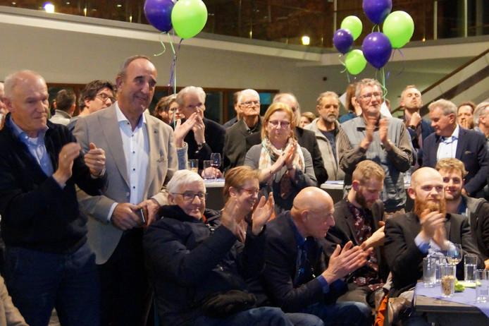 LokaalBelang werd tijdens de gemeenteraadsverkiezingen vorige maand opnieuw de grootste partij in Waalwijk.