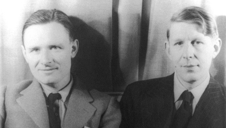 Christopher Isherwood (links) in 1939. Beeld Van Vechten Collection at Library of Congress