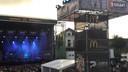 Het kleine podium op Appelpop dat tot de editie van 2017 door McDonald's werd gesponsord.