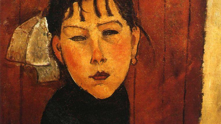 Marie, dochter van het volk door Amadeo Modigliani. Beeld