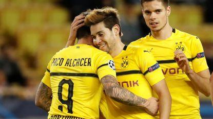Dortmund wint groep A na makkelijke zege tegen Monaco