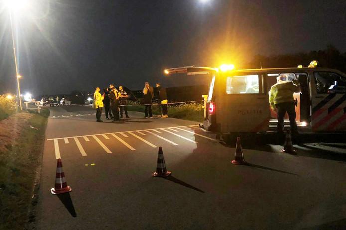 Het slachtoffer overleed aan de verwondingen die zij opliep bij een ongeluk op de Lekdijk in Nieuw-Lekkerland.