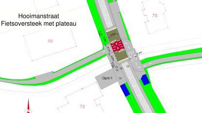 Aanleg fietsoversteek Hooimanstraat start maandag