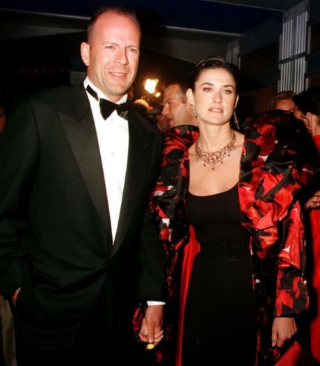 Cette photo de Demi Moore et son ex Bruce Willis agace les internautes