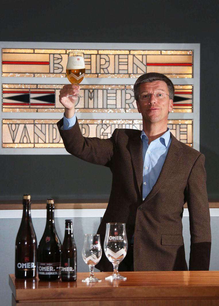 Omer Jean Vander Ghinste, de huidige zaakvoerder van de brouwerij.