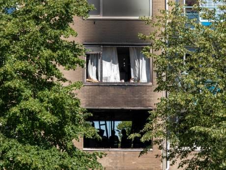 Zuurstofcilinder ontploft nadat brand was uitgebroken in appartementencomplex Vlissingen
