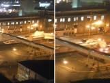 Heftige beelden van treinongeluk Leeuwarden