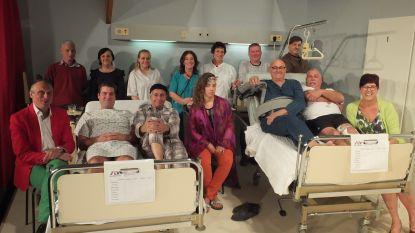Grammense Klieke in de ziekenzaal