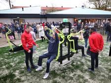 Fitnessen in de buitenlucht in de Beweegtuin in Eindhoven