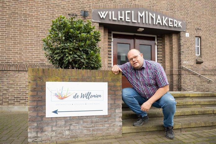 Marco van de Kraats van de Stichting Instandhouding Wilhelminakerk: ,,We wilden zowel het gebouw als de cultuur niet verliezen.''