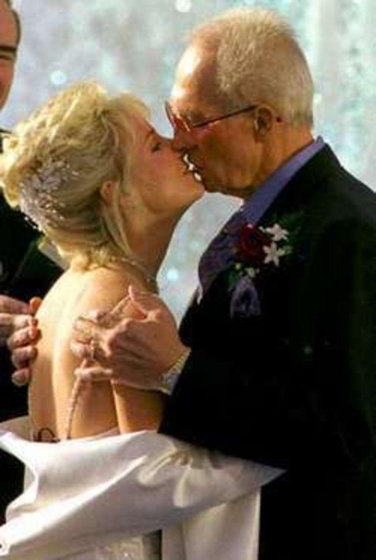 In 1999 trouwde Knievel met zijn 30 jaar jongere vrouw.