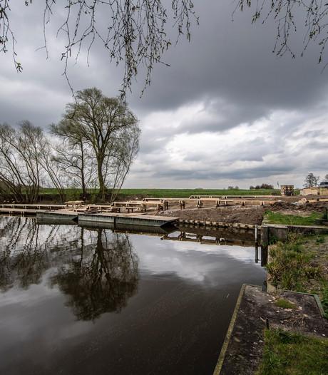 Tijdelijke horeca bij Sluiseiland in Kruisland