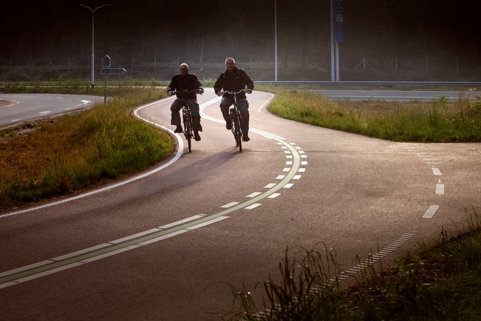Een snelfietsroute, foto ter illustratie.