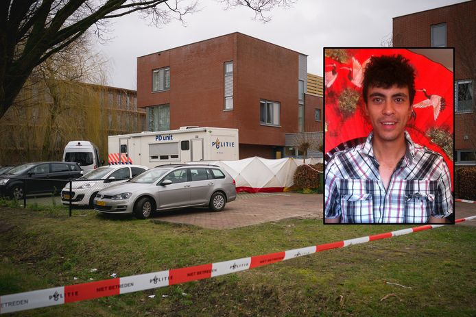 De politie doet onderzoek bij Pro Persona in Wageningen. Inzet: Robert Donnges.