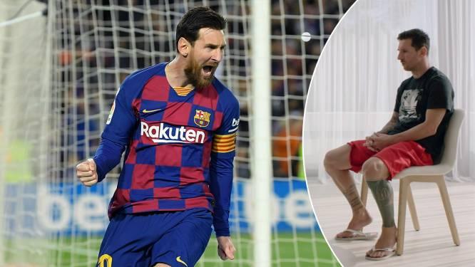 """Se queda! Lionel Messi kondigt aan dat hij dan toch bij Barcelona blijft, maar: """"Beleid van Bartomeu is een ramp"""""""