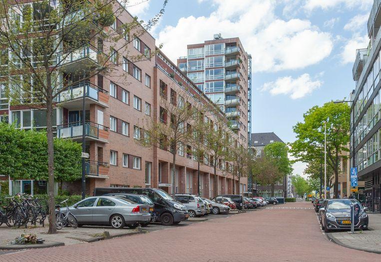 Het Wilhelmina Gasthuis (WG) is een voormalig ziekenhuis. Na de sluiting in 1983 is het terrein een woonwijk geworden. Beeld Erik Klein Wolterink
