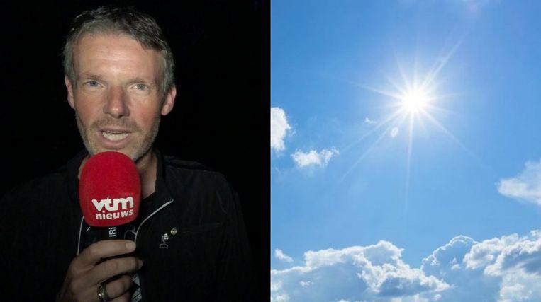 """Weerman Frank Duboccage: """"Het weekend wordt zonnig en zacht"""""""