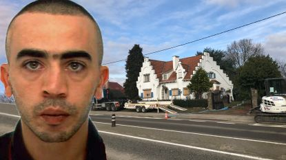 Politie zoekt naar lijk in Dilbeekse villa waar volgens urban legend schat zou verstopt zijn
