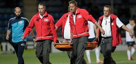 Blessure FC Den Bosch-middenvelder Luuk Brouwers lijkt mee te vallen