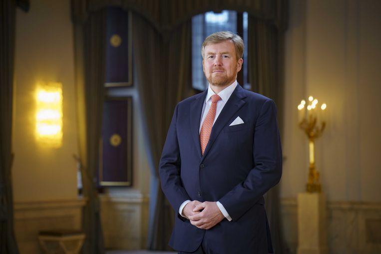 Koning Willem-Alexander  Beeld ANP Handouts