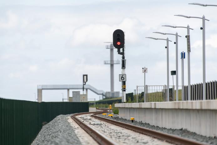 Het Noordelijkste treinstation van Nederland; De Eemshaven.