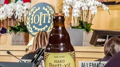 "Bierbrouwer drijft spot, met brexitbiertje: ""Pintje, Theresa May?"""