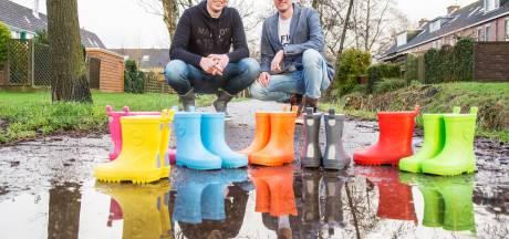 Twee jaar na start gaat de verkoop van laarzen voor Cliniclowns door het dak