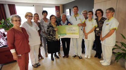 Femina geeft 1.000 euro aan palliatieve eenheid