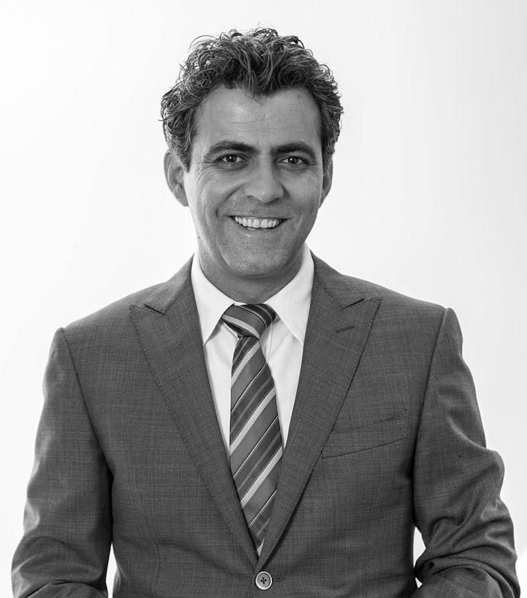Sezgin Cihangir. Directeur Nederlands Mathematisch Instituut (NMI). Beeld