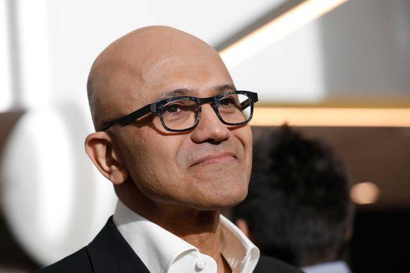 Satya Nadella (51) brak de verstarde bedrijfscultuur van Microsoft open, zette hoog in op clouddiensten voor bedrijven en blies zo nieuw leven in wat de dinosaurus van de techwereld dreigde te worden.