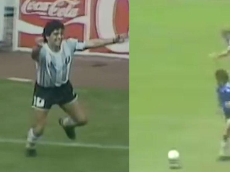 De geniale klasseflitsen van voetballegende Diego Maradona