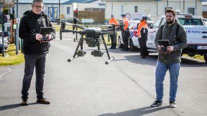 Politie zet drone met warmtecamera in om tweedeverblijvers op te sporen in vakantieparken aan de kust